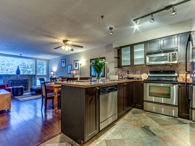 Photo for Acer Vacations - Greystone Lodge Large 2 Bedroom Sleeps 8  Ski-In Ski-Out
