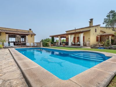 Photo for Dreamlike Villa with Mountain View, Pool, Garden, Terrace and Wi-Fi