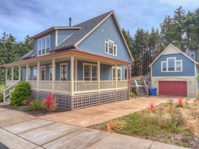 Photo for New Luxury Home with 3 King Beds, Game Room, Across the Street from the Ocean