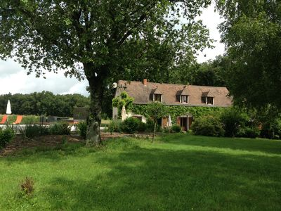Photo for Beautiful French Farmhouse with private heated pool & jacuzzi