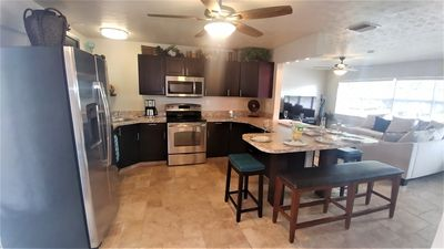 Photo for 4 Bedroom private pool home, 3 blocks walking distance to beach, East of A1A