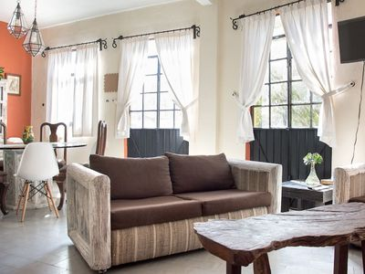 Photo for Beautiful mexican style apartment