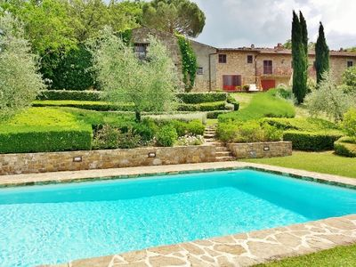 Photo for Il Capiteto Tuscan Villa in the heart of Chianti Classico