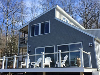 Recently renovated 4 bedroom lakefront house in The Berkshires.