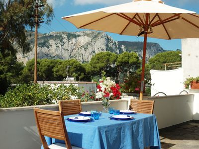 Photo for Capri - Elegant house just a few minutes from the Piazzetta