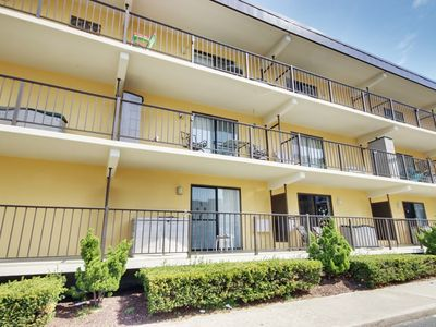 Photo for New Listing! Sunspot 203mini - great little 1 Br getaway! Block to beach, North OC! Will do mini weeks.