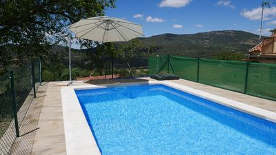 Photo for La Higuera and El Nogal Swimming pool 12 seats + suple Avila Gredos