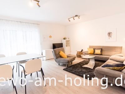 Photo for NEW! Modern furnished apartment in a quiet location near the Aartalsee