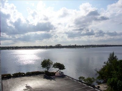 Primary view of Intracoastal Waterway from balcony-also can see ocean and golf