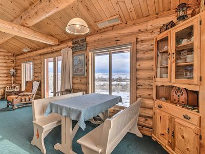 Photo for NEW! Encampment Forest Ranger Cabin w/ 360 Views!