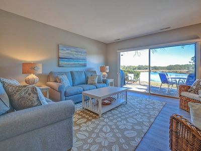 Photo for 1615 Port Villa - Stunning Views of Braddock Cove and steps to the marina!