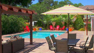 """Photo for """"House of Sunsets""""- Private Pool, 30 min from Zion's-, Game Room, BBall Court"""
