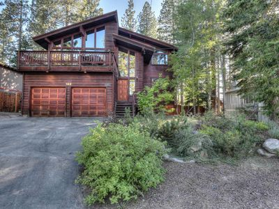 Photo for Spacious Tahoe Retreat in Dollar Point with BBQ Deck