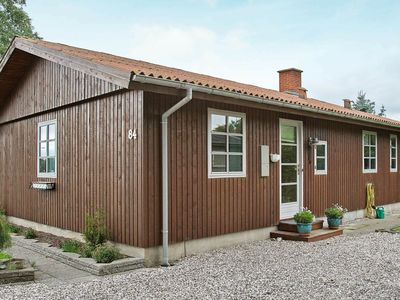 Photo for Vintage Holiday Home in Grenaa Jutland with Roofed Terrace