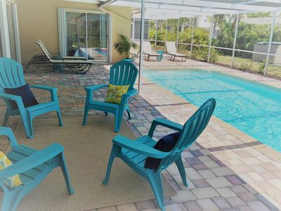 Photo for Tropical Paradise Marco Island Heated Pool Beach House 3 Bd/2 Ba - Beach & Shops