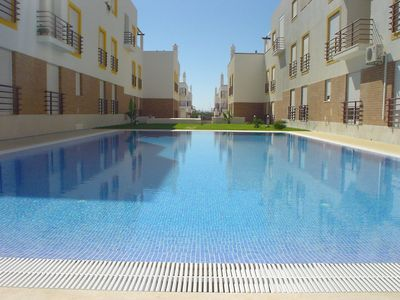 Photo for Spacious 2 Bedroom Apt With Air - Con, Swimming Pool, Very Close To The Beach.