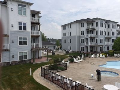 Photo for Immaculate 3 Bedroom, 2 Bath Condo with 2 Balconies and access to Pool