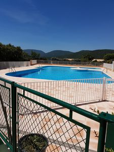 Photo for F3 of 52m ² terrace 20m ² swimming pool, Golf st tropez, the cross Valmer, 6couchages