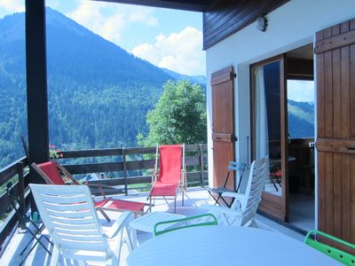 Photo for Large Chalet 300 m2 - South facing - 18/22 Pers - 8 Ch - Domaine Ski Portes Soleil