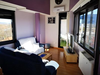 Photo for Bright penthouse in Jaca
