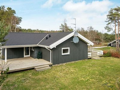 Photo for Beautful 8 Person Holiday Home in Ebeltoft with Terrace
