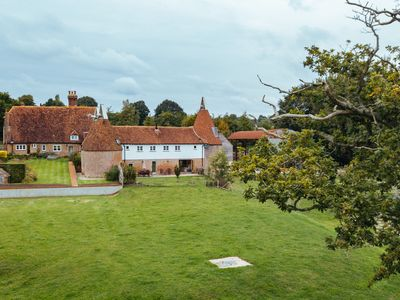 Photo for Three Roundel Oast House in an Idyllic Rural Setting
