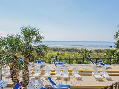 Photo for Fully-Updated Condo with Oceanfront and Pool Views!