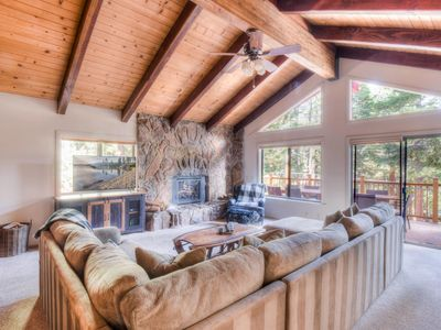 Photo for Perfect Summer Carnelian Bay Home w/Sauna, Blocks from the Lake