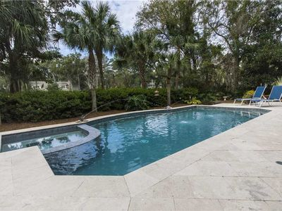 Photo for 28 Red Maple | UPDATED 2019 | Panoramic Golf Views | Private Pool + Spa | Bike to Beach | Sea Pines