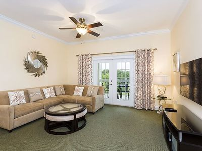 Photo for Bright and Spacious Luxury Condo Near Disney - Amazing Views!