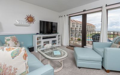Photo for BEACH VIEW! 2 BR 2.5 BA ~ Gulfside Townhomes! *7 Night SPECIALS!