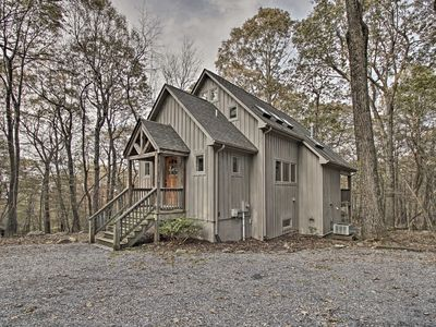 Photo for Wintergreen Cabin w/Private Hot Tub, Deck & Views!