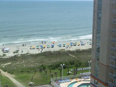 Photo for Dunes Village Resort-Indoor Water Park-2 BR/2 BA-Full Glass Wall for Great View