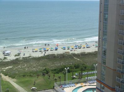 The view from the condo.