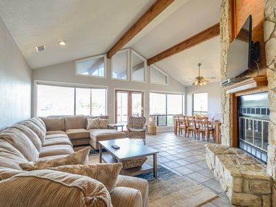 Photo for NEW LISTING! Lakefront home on cove with beautiful views!