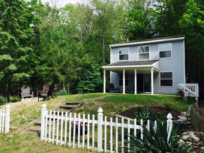 Photo for Cozy Pentwater Beach Cottage Steps from Lake Michigan!