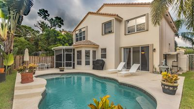 Photo for Spacious home with heated pool