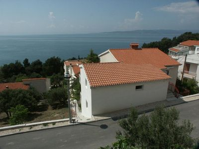 Photo for Studio flat with terrace and sea view Baška Voda (Makarska)