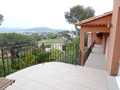 Photo for Beautiful villa comtemporaine sea view and fort of Six ovens