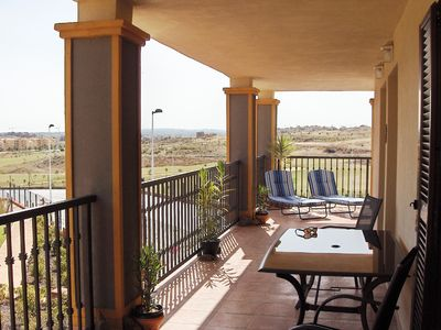 Photo for Luxury 2 Bed Apartment, Costa Esuri Golf nr Ayamonte & Beach. Free Wifi !