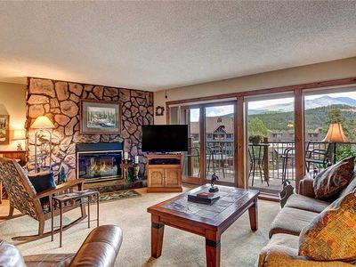 Photo for Amazing Breckenridge location! Ski-in, On-Site Hot Tubs, 1 block to Main Street!