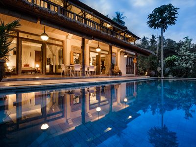 Photo for Villa Sagitta: Peace & tranquility near Ubud with magnificent river gorge views