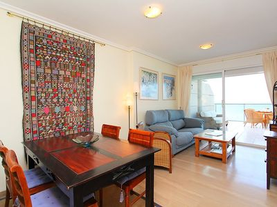 """Photo for Apartment right near the """"Playa Cantal Roig"""" in Calp with Lift, Parking, Internet, Washing machine (106141)"""