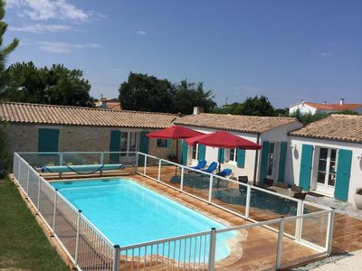 Photo for captain's villa. heated pool and patio