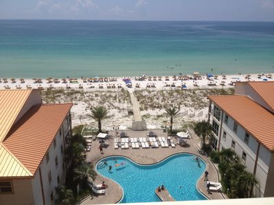 Photo for Beautiful Condo! Best Rates! Beach Chairs included Mar - Oct ($240 savings/week)