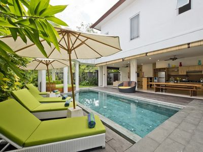 Photo for Del Mar3, 3 Bed Villa Right By The Beach, Seminyak