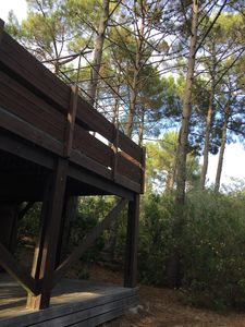Photo for WOODEN CHALET BETWEEN FOREST AND OCEAN