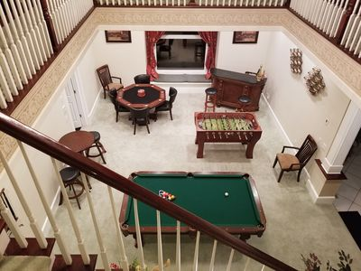 Photo for 6 Bedrooms Resort Style Castle, Luxurious Estate - 20 Minutes to Tampa Airport