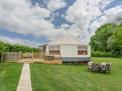 Photo for Willow Yurt offers something very different from the usual glamping experience.