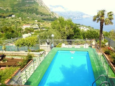 Photo for Private Villa Minerva Amalfi Coast with sea view and private swimming pool